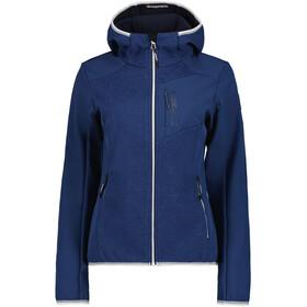 Icepeak Dahloneka Softshell jakke Damer, blå